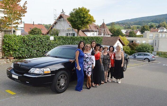 Loredanas 50 Geburtstag Limousine