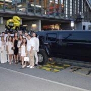 Sahras Hummer und Lincoln Limo nach Zürich